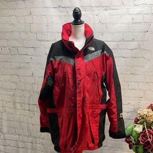 The North Face Extreme Light Red & Black Jacket-XL